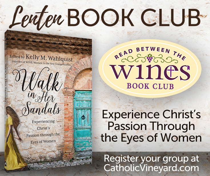 WALK in Her Sandals WINE Lenten Book Club