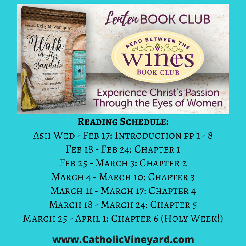 Lenten Book Club Reading Schedule 2018