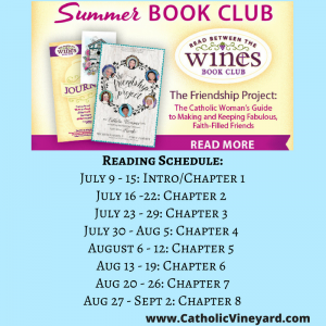 Friendship Project Summer WINE Book Club