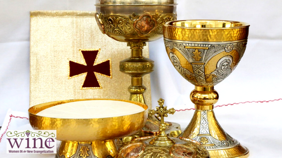 We can celebrate the anniversary of those first Masses every time we receive Communion, and we can marvel that those who first partook of Jesus' Body and Blood are communing with us at each Mass as well!