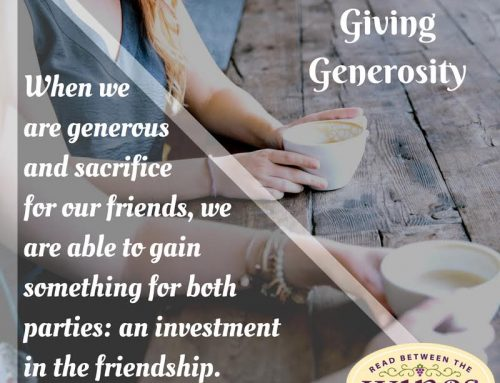 Friendship Project Week 7: Encouraging Friends in Giving Generously