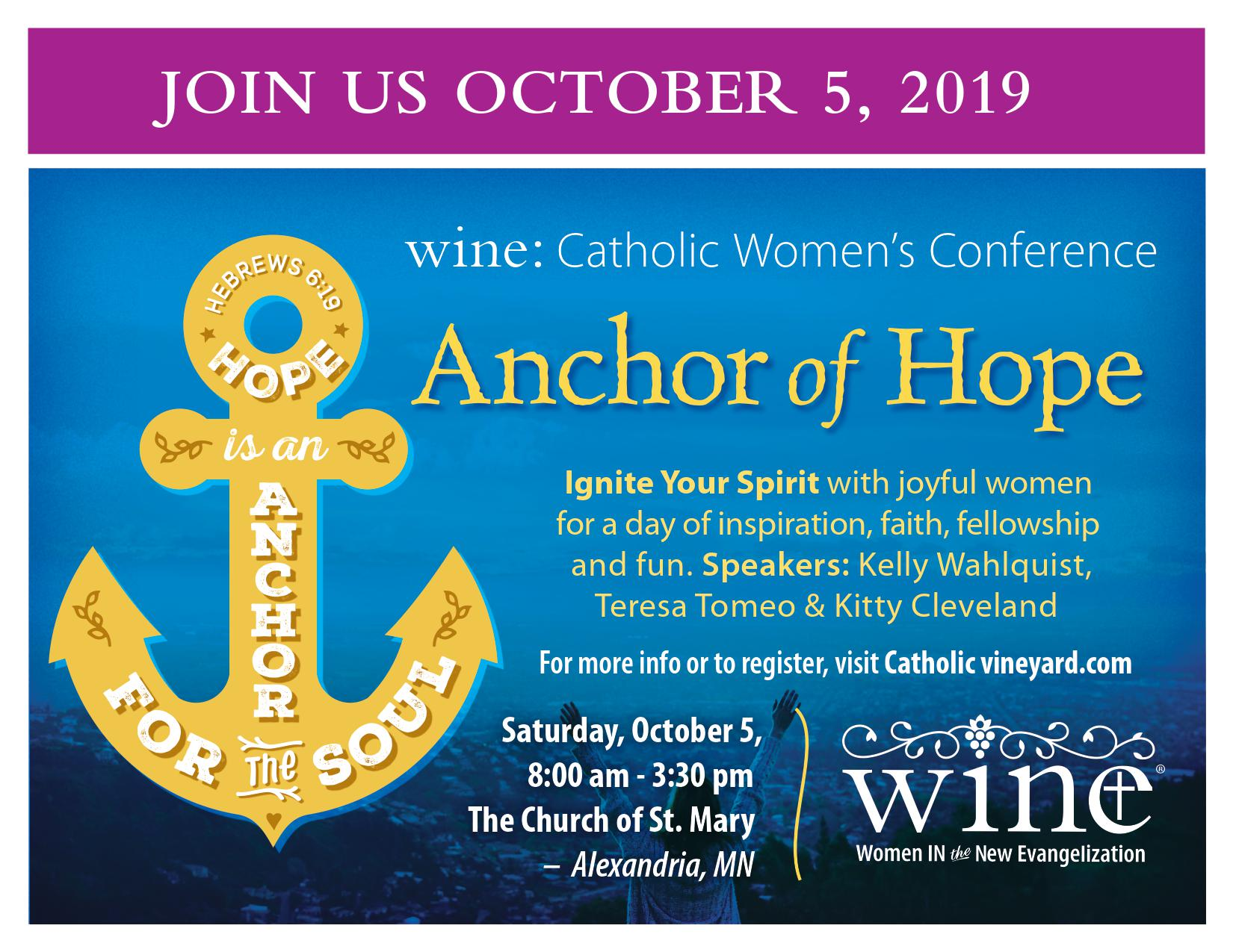 WINE – Women In the New Evangelization