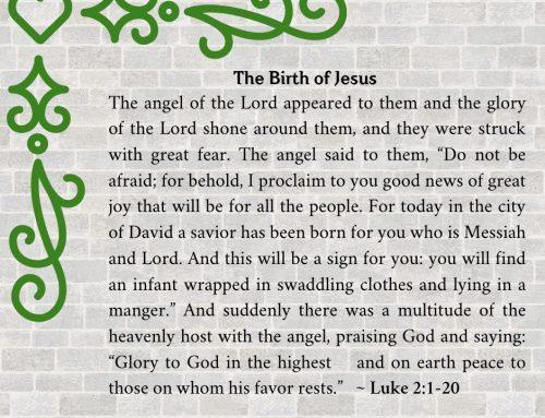 Gaze Upon Jesus – Enter the Scripture (Chapter Three)